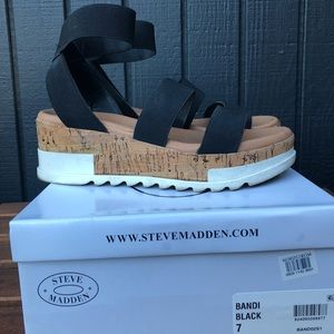 fb0dc016bf3 Steve Madden Shoes - Steve Madden Bandi Platform sandal